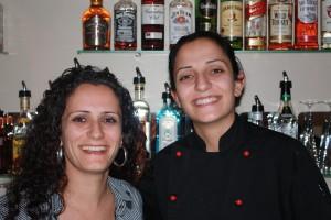 Almond Bar owners Carol and Sharon Salloum