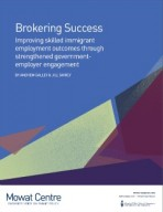 Brokering Success – Improving Skilled Immigrant Employment Outcomes