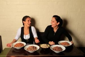 Carol, left, and Sharon Salloum of Almond Bar in Darlinghurst, Sydney