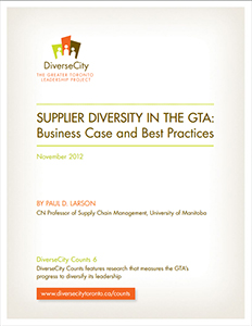 Supplier Diversity in the GTA